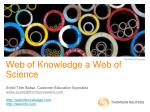 web of knowledge a web of science