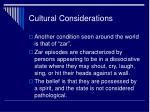 cultural considerations2
