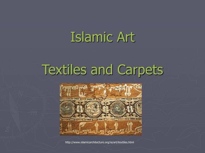islamic art textiles and carpets n.
