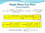 single phase gas flow general equation2