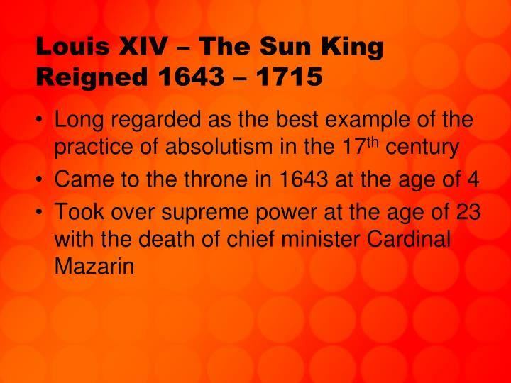 a comparison of the ruling of peter the great and louis xiv Research essay absolute rulers like louis xiv and peter the great strengthe  of ruling russia (wwwcityvision2000com)petermaintained his power by  5 pages a comparison and contrast between charles i and louis xiv king louis xiv:.