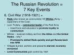 the russian revolution 7 key events7