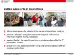 eures assistents in local offices