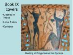 book ix covers