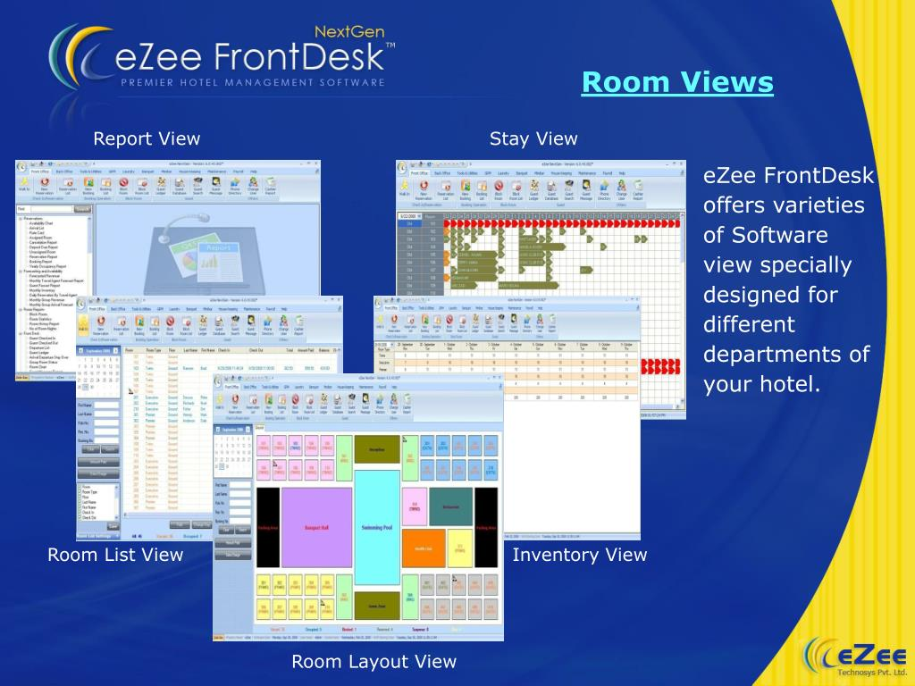 "PPT - eZee Technosys Pvt  Ltd introduces ""eZee FrontDesk"