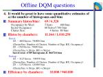 offline dqm questions1