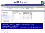 wmb interface