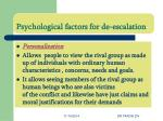 psychological factors for de escalation4
