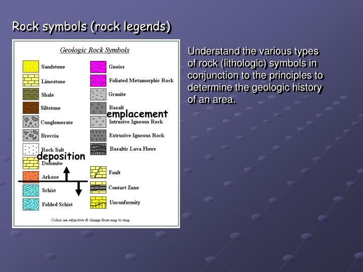 Rock symbols (rock legends)