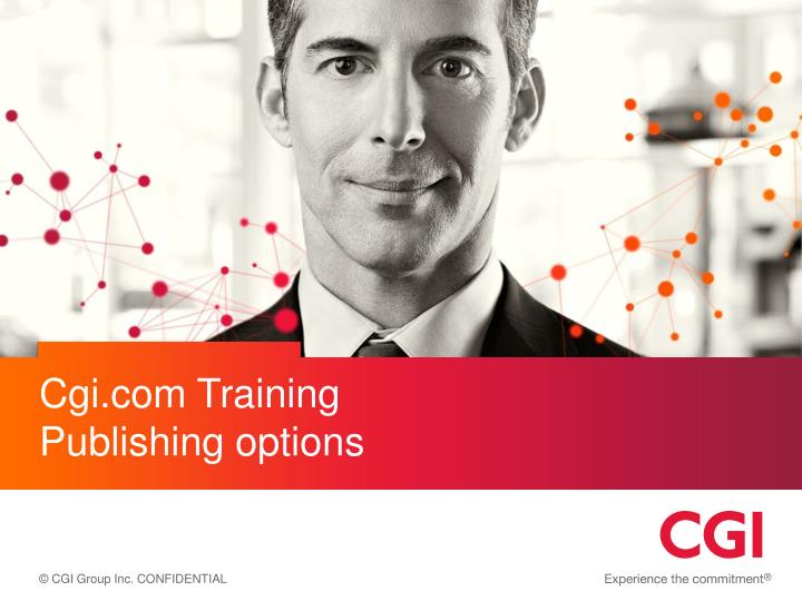 cgi com training publishing options n.