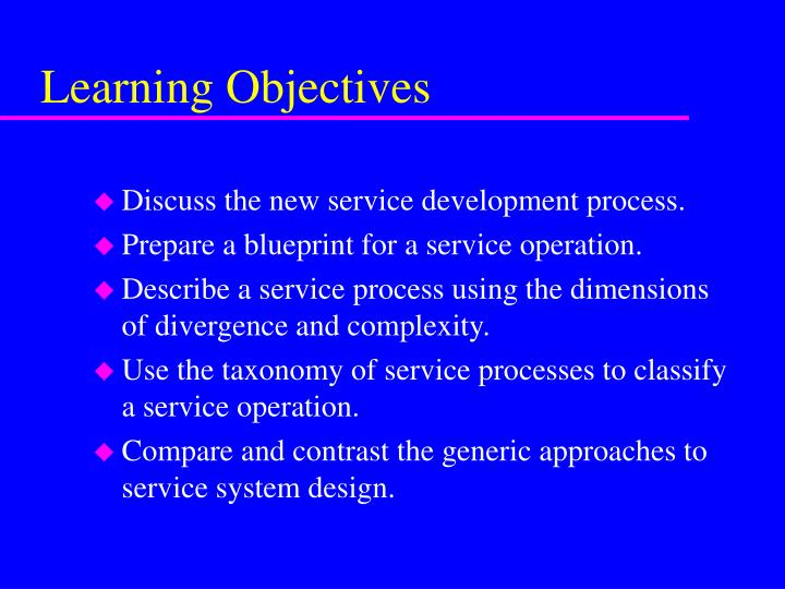 Ppt new service development powerpoint presentation id6700153 learning objectives malvernweather Gallery