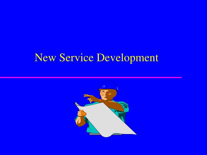 new service development n.