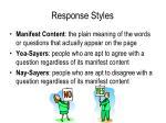 response styles2