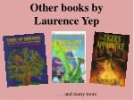 other books by laurence yep