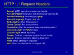 http 1 1 request headers