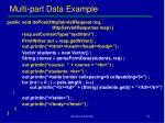 multi part data example