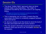 session ids