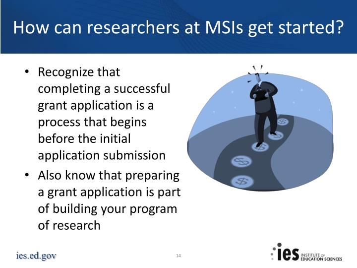 How can researchers at MSIs get