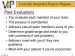peer evaluations