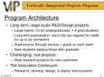 program architecture