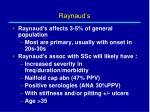 raynaud s