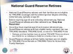 national guard reserve retirees