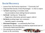 social recovery