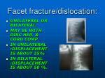 facet fracture dislocation