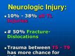 neurologic injury
