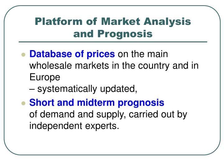 Platform of Market Analysis