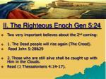 ii the righteous enoch gen 5 241