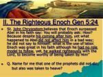 ii the righteous enoch gen 5 243