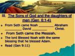 iii the sons of god and the daughters of men gen 6 1 41