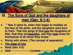 iii the sons of god and the daughters of men gen 6 1 42