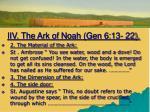 iiv the ark of noah gen 6 13 222