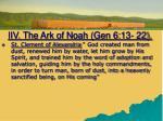 iiv the ark of noah gen 6 13 223