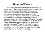 orders of events1