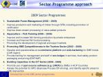 sector programme approach3