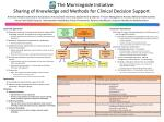 the morningside initiative sharing of knowledge and methods for clinical decision support
