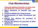 club memberships2