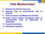 club memberships3