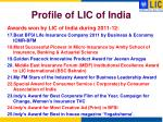 profile of lic of india4