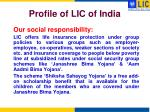 profile of lic of india5