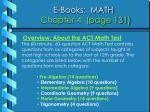 e books math chapter 4 page 131