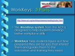 workkeys 3 parts