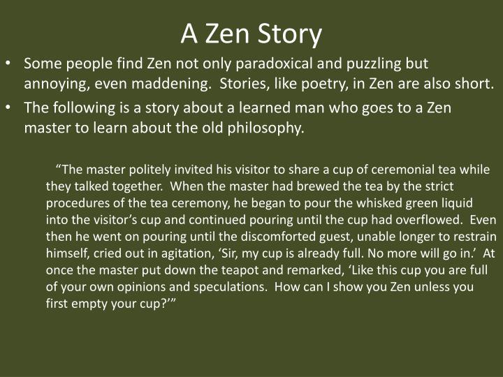 A Zen Story