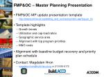 fmp oc master planning presentation