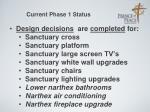 current phase 1 status