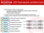 osi framework architecture