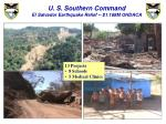 u s southern command el salvador earthquake relief 1 168m ohdaca